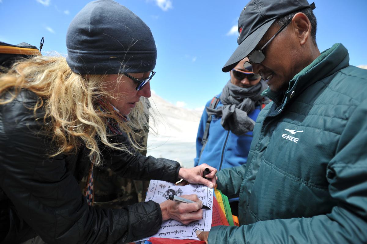 TRAVEL 2014 - Mount Everest base camp Qomolangma Nature reserve Tibet -